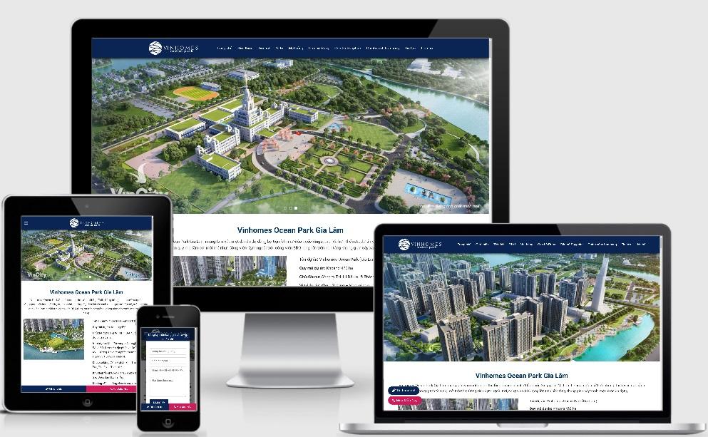 Dịch vụ thiết kế website bất động sản